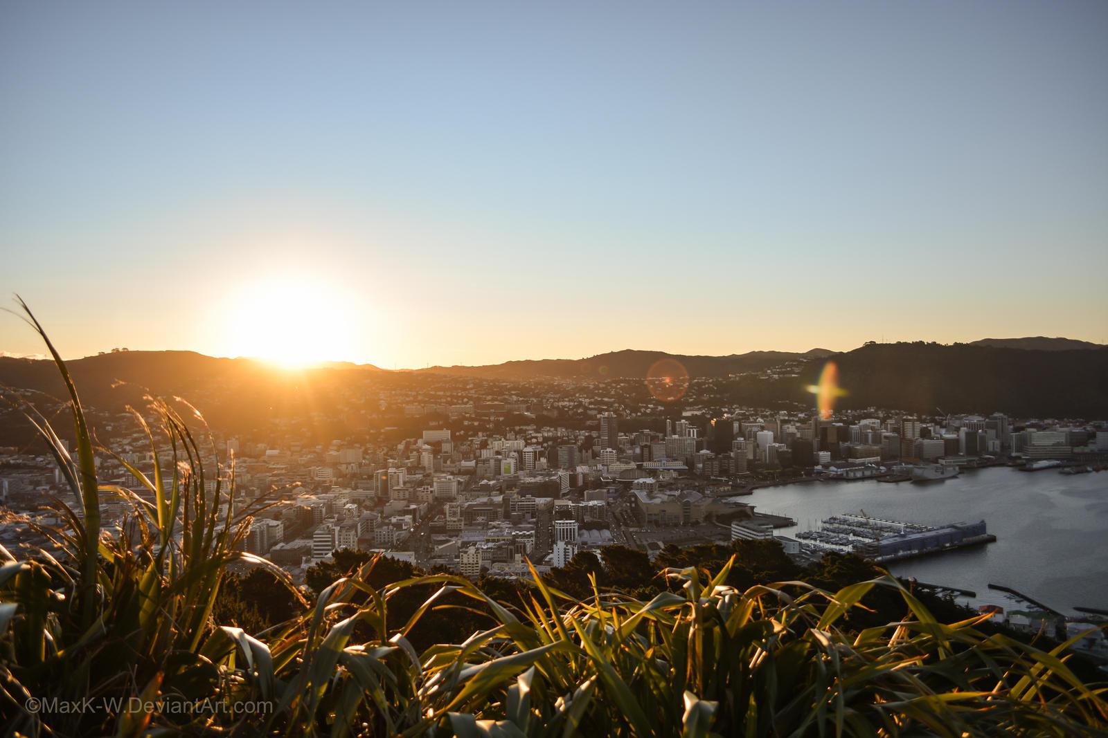 Wellington Sunset by MaxK-W on DeviantArt