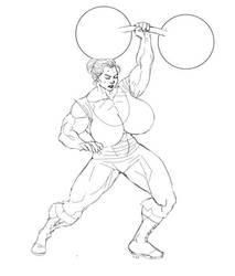 Fan Art 1 - The-Muscle-Girl-Fan