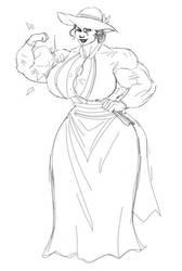 Fan Art 4 - The-Muscle-Girl-Fan