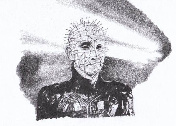 Pinhead from Hellraiser by GabrielGrob