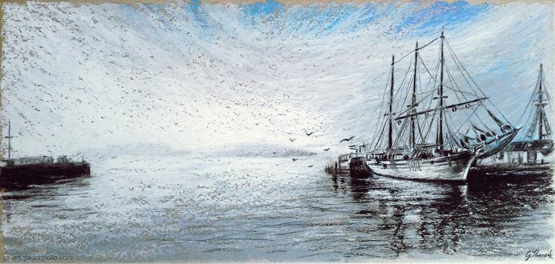 Seefahrt by GabrielGrob