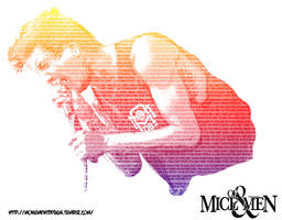 Of Mice and Men Austin Carlile Image Typography by M0NUMENT