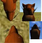 FeralHeart Feline Whiskers mesh COMPLETE!