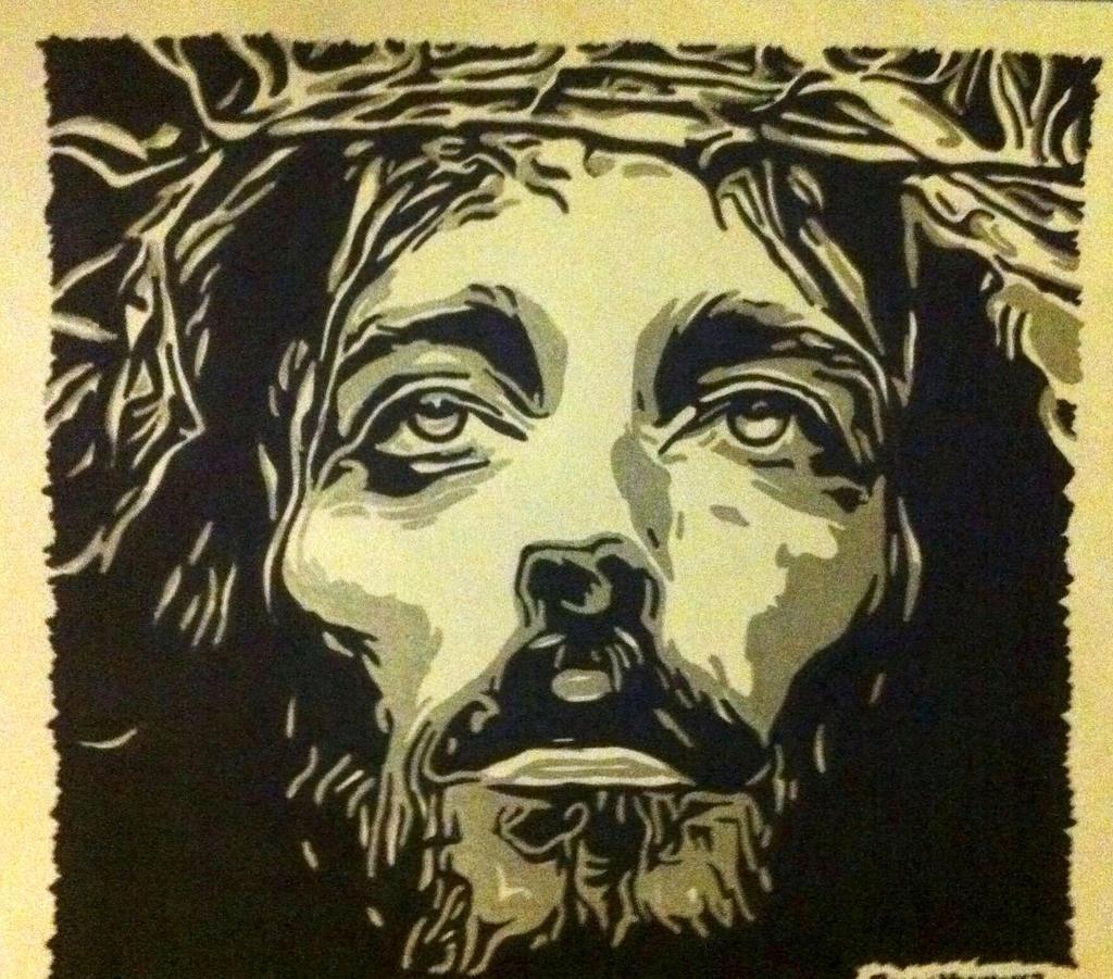 jesus christ portrait by brianmick on deviantart