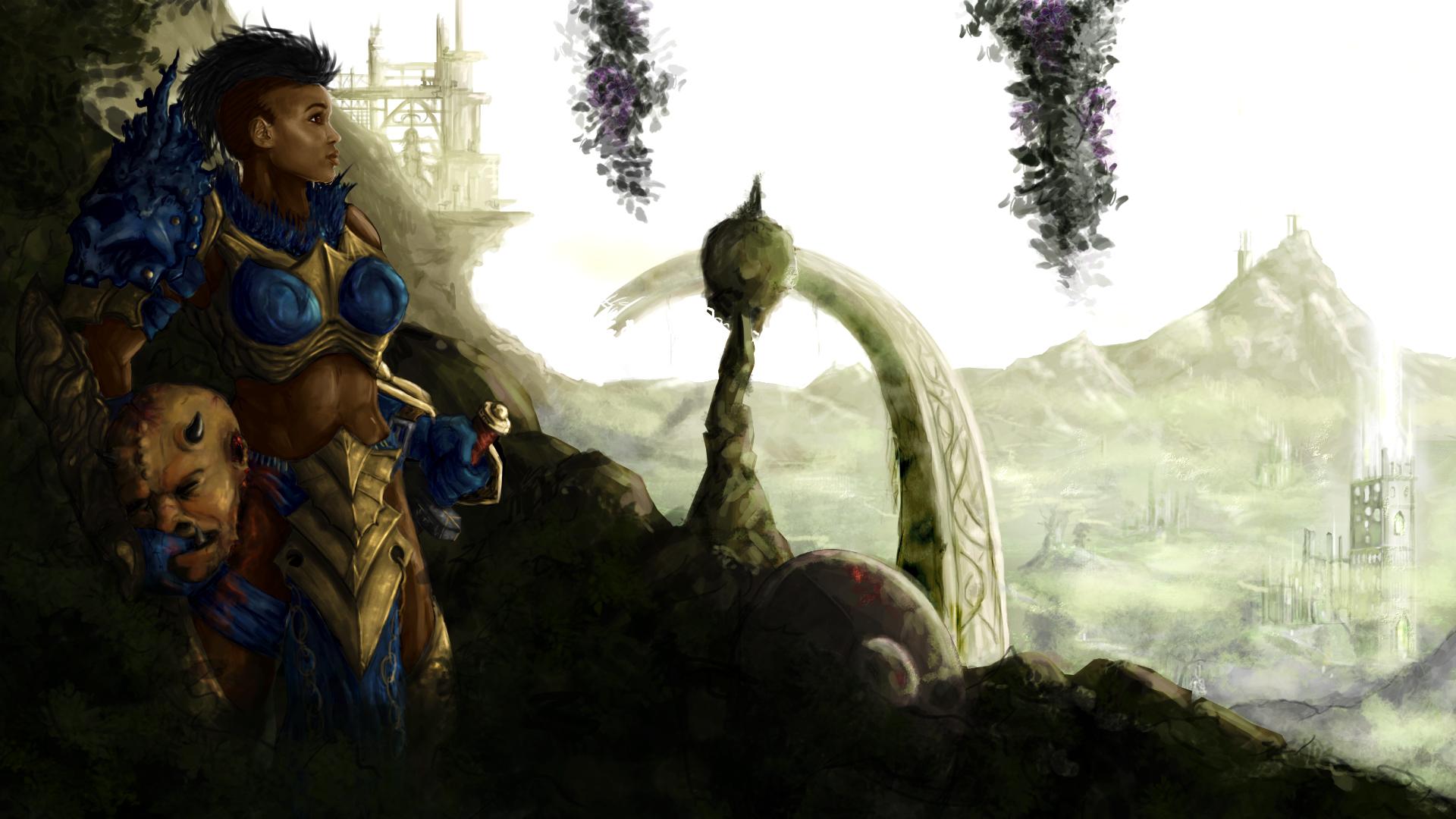 Human Warrior - Bounty Hunting - Guild Wars 2 Tumblr