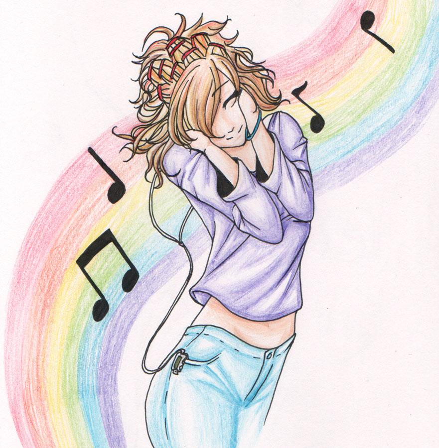 Rainbow Music by chiyokins