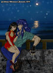 Milo and Ling Shu by The Sea by GoddessRhiannon13