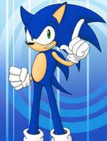 Sonic the Hedgehog Rush by Chris-Draws
