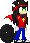 [Commission] Nathan Sprite by Chris-Draws