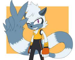 [Six Fan Arts #2] Tangle the Lemur