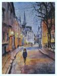 Girl in Tallinn