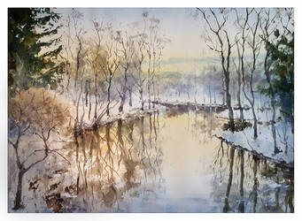 Frozening river by sampom