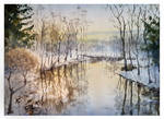 Frozening river