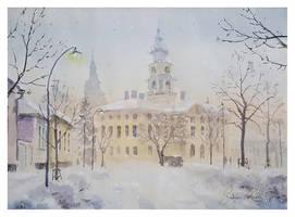 Winter in Hamina by sampom