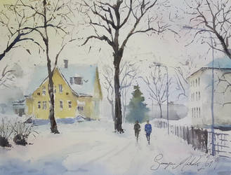 Winter by sampom