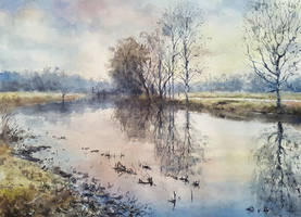 Morning river by sampom