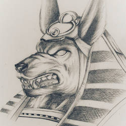 Anubis, God of the Dead by Tormented-Complex