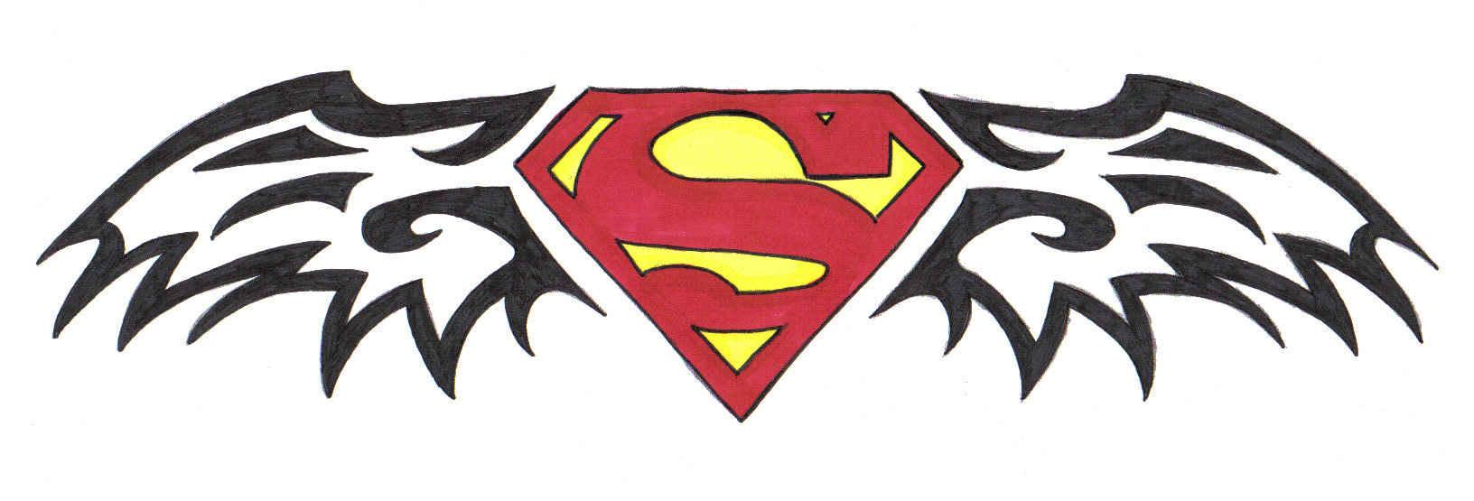 Superman Tribal Design 3 By Phantaz On Deviantart