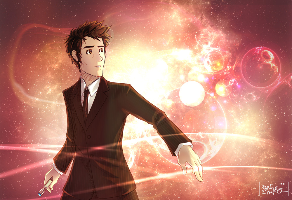Tenth Doctor Revisited by OrneryJen
