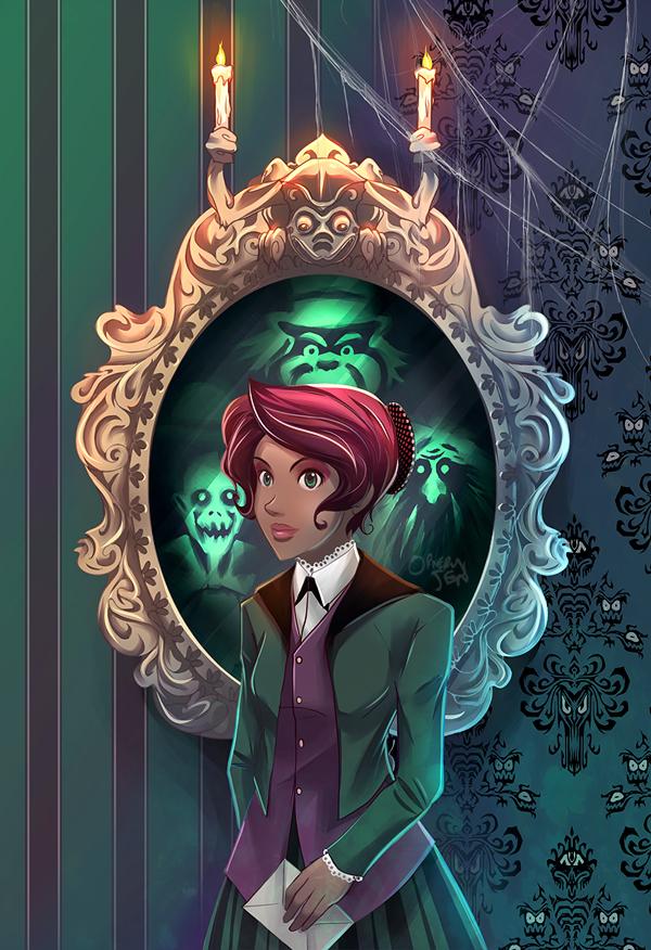 Haunted Mansion - Ella by OrneryJen