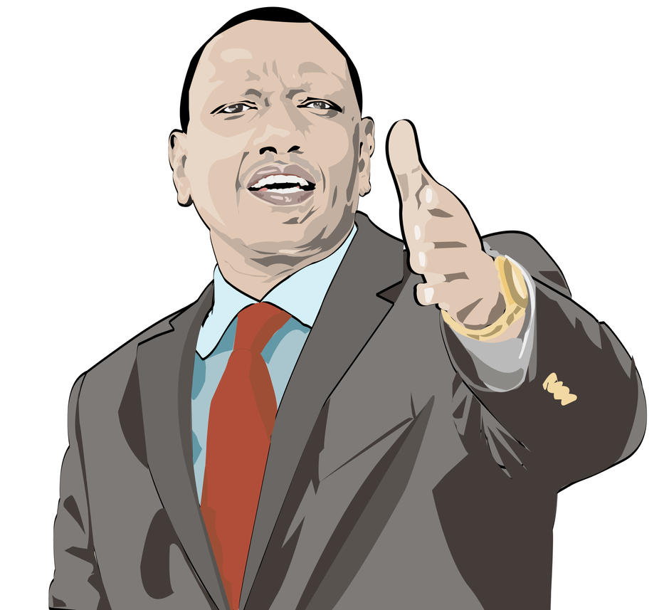 William Ruto by stanzs