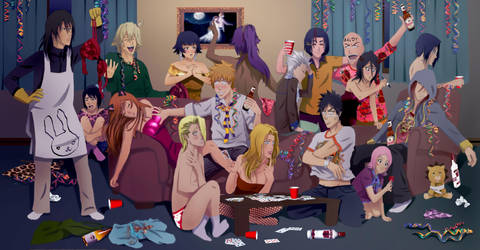 Party like a Shinigami by Lady-Sausage
