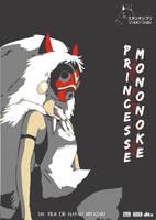 Princess Mononoke Poster by kokorostudio