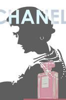 Coco Chanel Advertisement 2 by kokorostudio