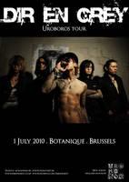 Dir en Grey Concert poster by kokorostudio