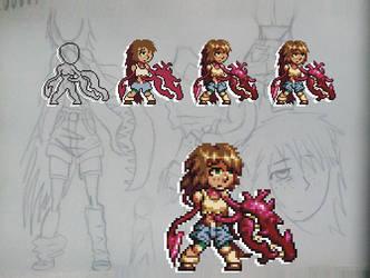 Possessed Girl (pixel art)
