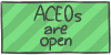 ACEOs are open by WizzDono