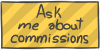Ask me about commissions by WizzDono