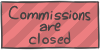 Commissions are closed by WizzDono
