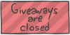 Giveaways are closed by WizzDono