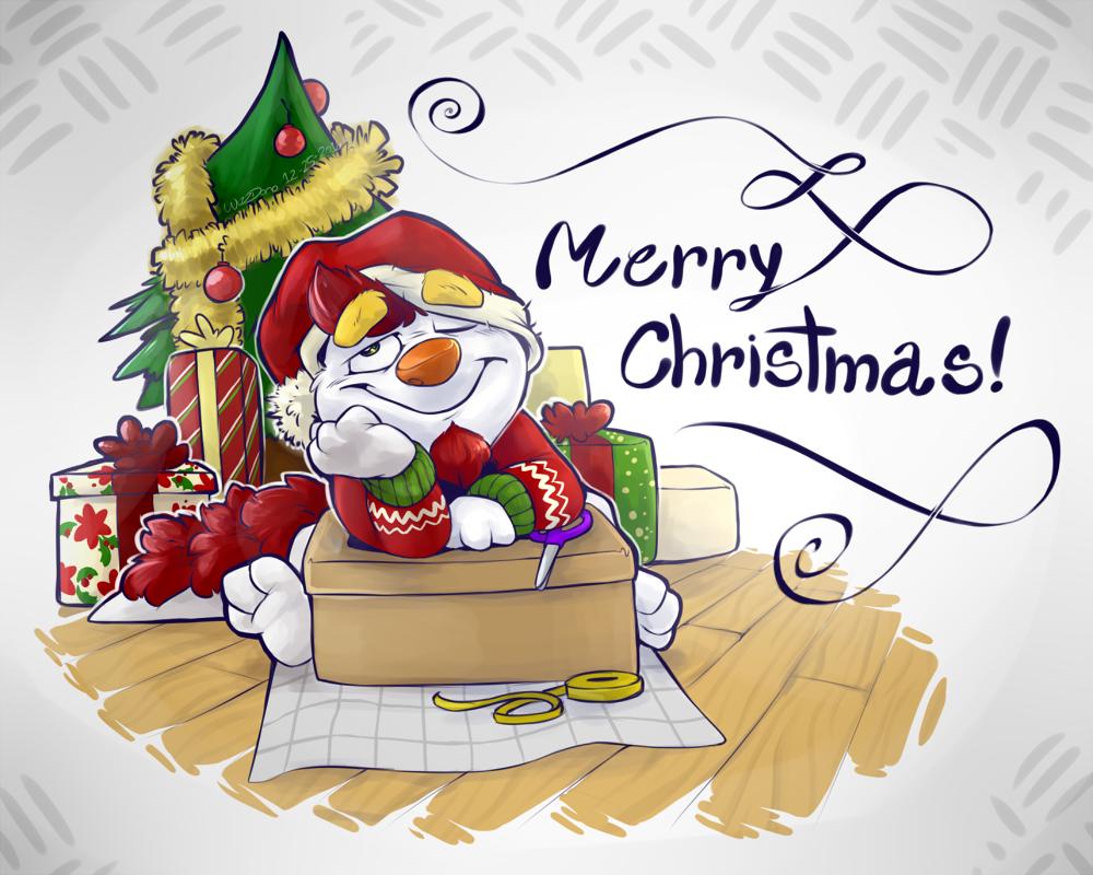 merry christmas everybody by wizzdono