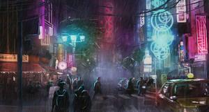 Cyberpunk City - Environment Project