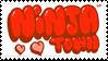 Ninja Town Stamp by MurdererDelacroix