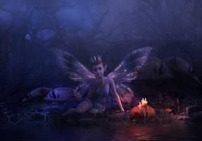 Halloween In Fairyland by Lollipop-Stock