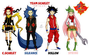 Team Scarlet Colored