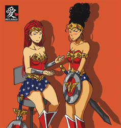 Wonder Woman - Victoria and Maria