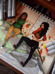 Nyah and Maria