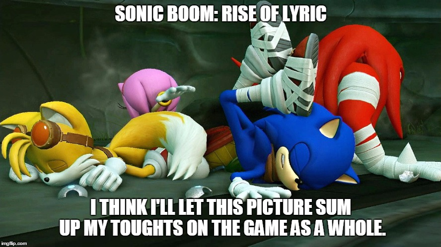 Sonic Boom: Rise of Lyric (Thoughts in a Nutshell) by gameman5804