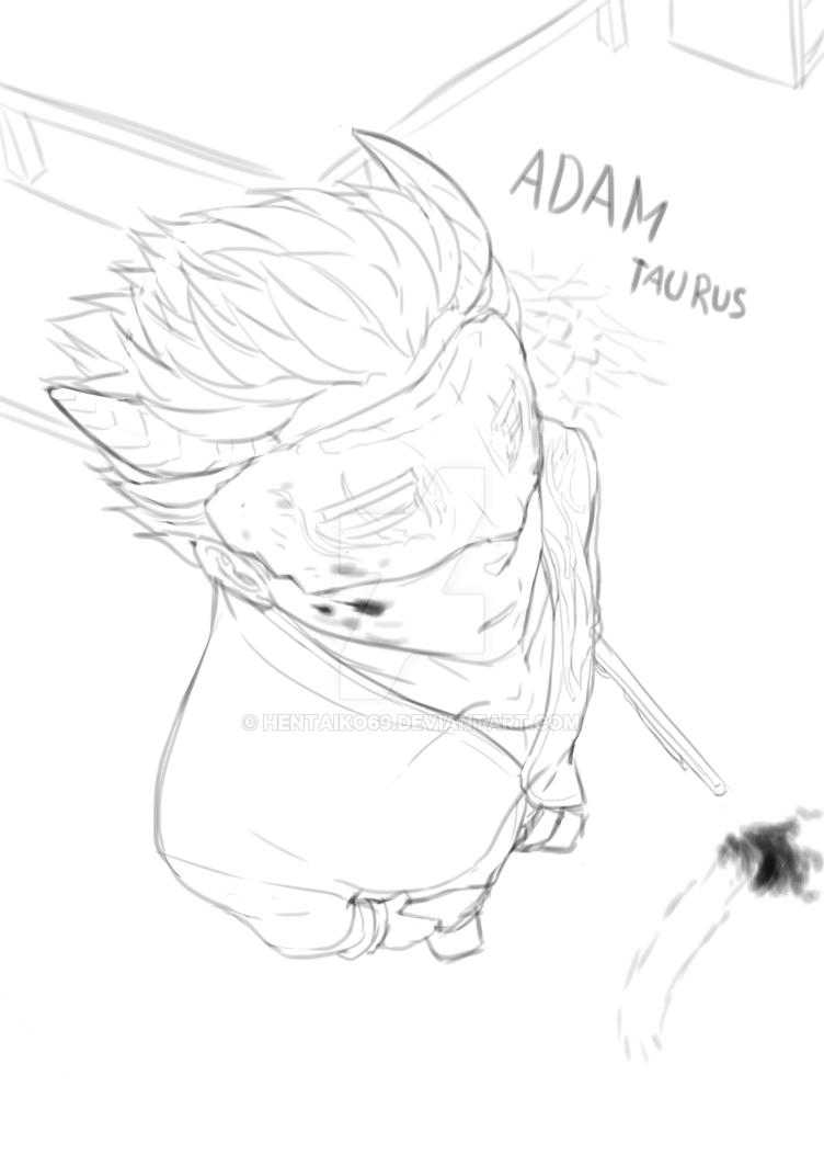 Adam taurus - RWBY by hentaiko69