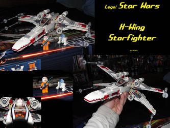 X-Wing Starfighter by KevOMac