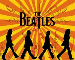 The Beatles Sunburst by hoodphotography
