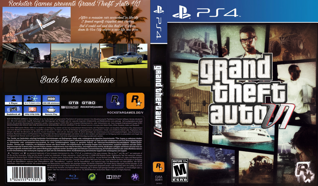 Gta 6 Cover: GTA 6 Cover By ZarGames On DeviantArt