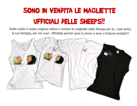 Sheeps t-shirt by bsign