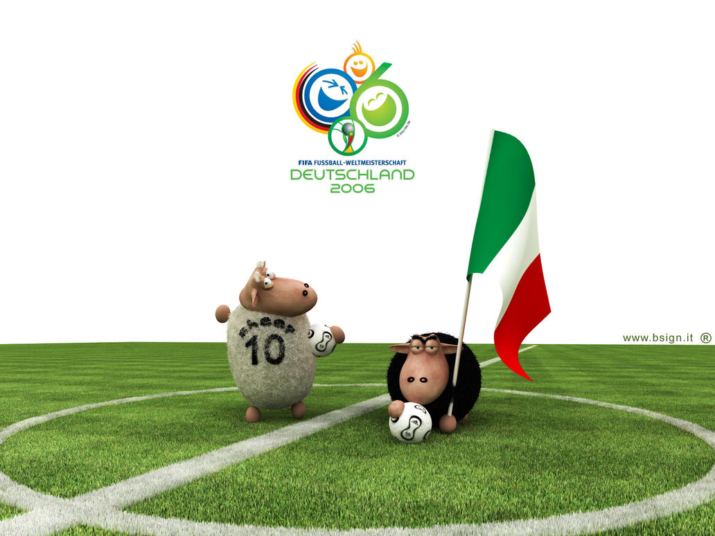 World Cup Sheeps by bsign