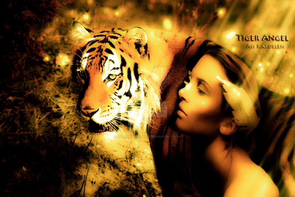 Tiger Angel by Asi-kardelen1980