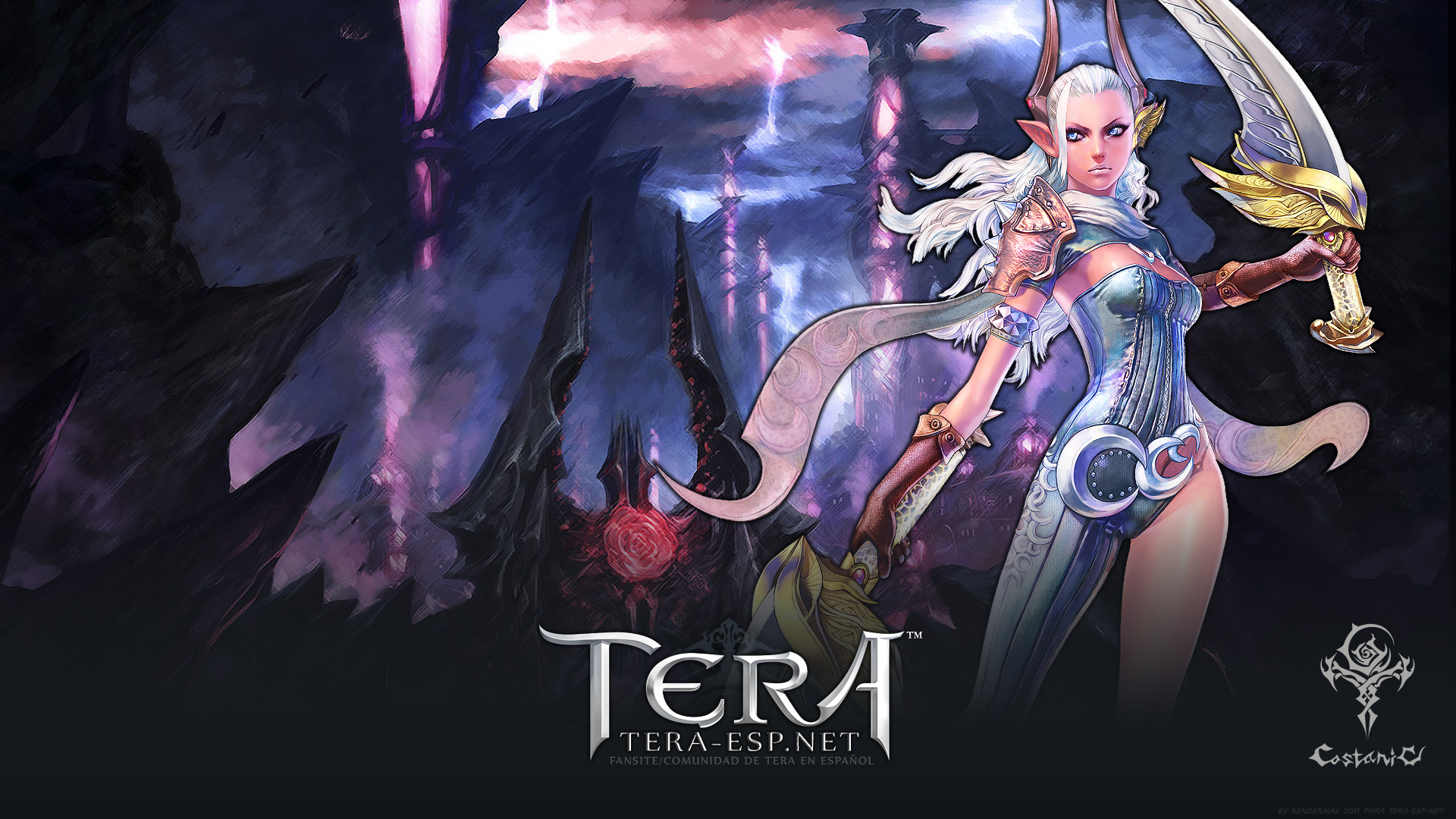 tera castanic female wallpaper by rendermax on deviantart